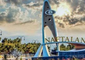40-dan çox dövlətin diplomatik təmsilçisi Naftalanın turizm potensialını öyrənib