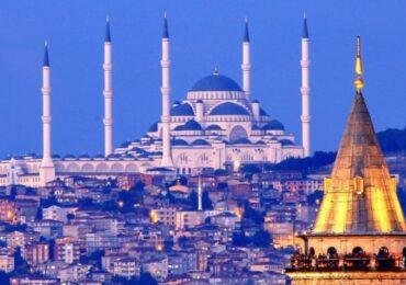 Böyük Çamlica Məscidi rəsmən açıldı