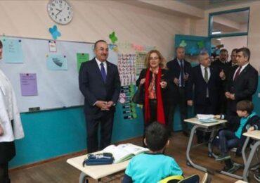 Türkiyə Maarif Fondu Gürcüstanda yeni məktəb açıb