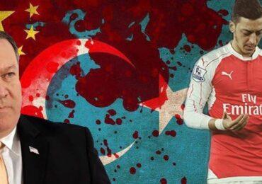 """ABŞ Dövlət katibi Pompeo Məsud Özilə dəstək verdi: """"həqiqət hər şeydən üstündür"""""""