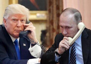 Putin xüsusi məlumata görə Trampa telefonla təşəkkür edib