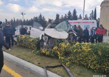 Şirvan şəhərində ağır yol-nəqliyyat hadisəsi baş verib: 4 nəfər həlak olub