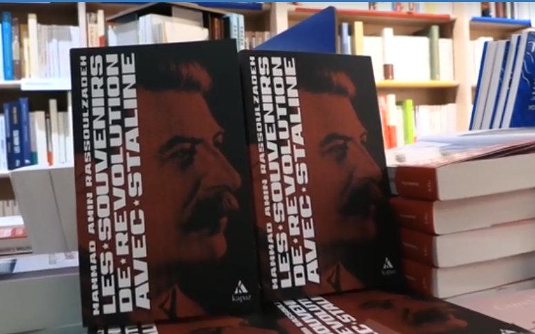 """M.Ə.Rəsulzadənin """"Stalinlə İxtilal xatirələri"""" kitabı fransız dilində nəşr olunub"""