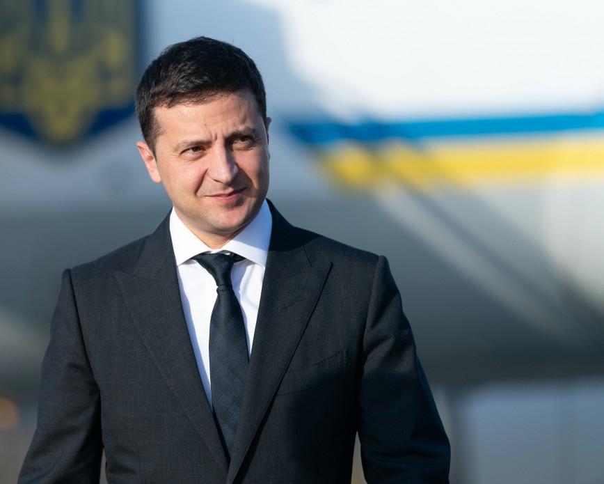 Ukrayna Prezidenti Vladimir Zelenski Bakıdadır