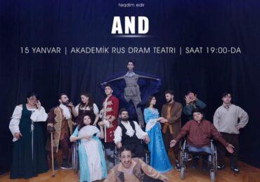 """""""ƏSA"""" Teatrı  """"And"""" ilə  tamaşaçıların görüşünə gələcək"""