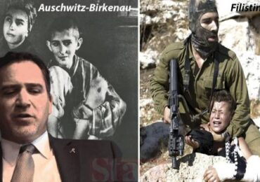 Fələstinlilərin cəsədlərinin gömüldüyü oğurluq torpaqlarda Holokostu anmaq  xətadır