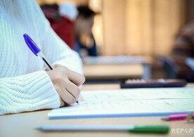 Magistraturaya sınaq imtahanının nəticələri açıqlanıb