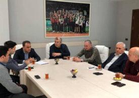 Gürcüstan Voleybol Federasiyasının prezidenti Bakıdadır