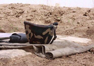 Azərbaycanın Dağlıq Qarabağ bölgəsində işğalçı rejimin daha bir əsgəri öldürülüb