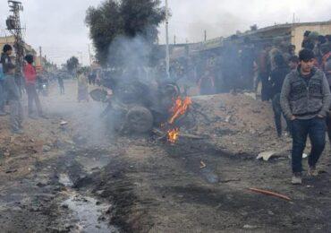 Suriya: Tel Abyadda terror aktı törədilib -  4 mülkü şəxs həyatını itirib