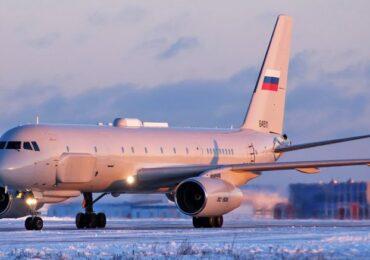 Rusiya son model strateji elektron-kəşfiyyat təyyarəsini Suriyaya göndərib (VİDEO)