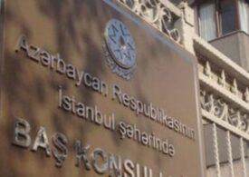 Azərbaycan vətəndaşları İstanbulda konsulluq önündə etiraz aksiyası keçiriblər