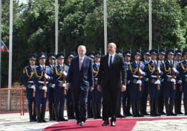 Şuşada Türkiyə Prezidentinin rəsmi qarşılanma mərasimi olub
